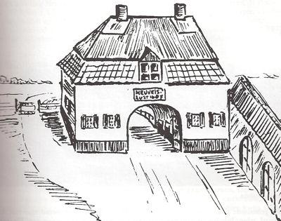 Het Tolhuis uit 1687.